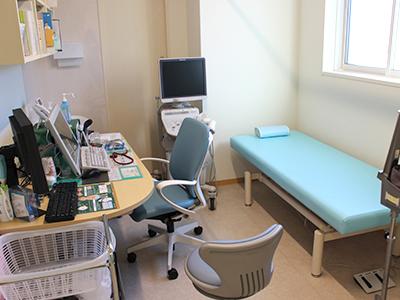 【画像】内科診察室